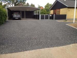 Granitbelægning